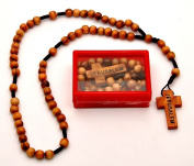 Olivewood Rosaries & Cross From The Holy Land Jerusalem