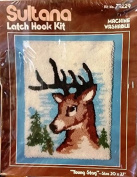 Young Stag Latch Hook Kit