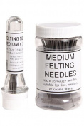 Ashford Medium Felting Needles - 10 pack