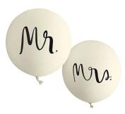 Kate Spade New York Bridal Balloon Set, Mr. And Mrs.