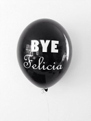 BYE Felicia 28cm Black Latex Balloons