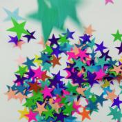 Confetti Stars 2.5cm Inch L 10 Different Colours 700 Plus Stars