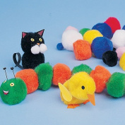 Pom Poms for Children for Crafts to Decorate