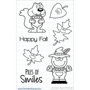 Your Next Stamp Clear Stamps 10cm x 15cm -Piles Of Smiles