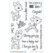 Your Next Stamp Clear Stamps 10cm x 15cm -Oh, Deer
