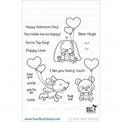 Your Next Stamp Clear Stamps 10cm x 10cm -Love & Smiles