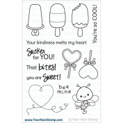 Your Next Stamp Clear Stamps 10cm x 15cm -Sweet & Cool