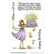 Your Next Stamp Clear Stamps 10cm x 15cm -Catherine