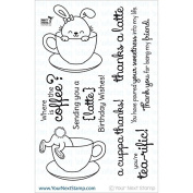 Your Next Stamp Clear Stamps 10cm x 15cm -Sprinkles-Coffee & Tea