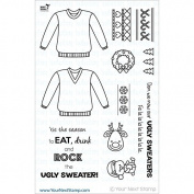 Your Next Stamp Clear Stamps 10cm x 15cm -Ugly Sweater