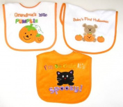 Baby Essentials 3 Halloween Feeder Bibs