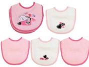 Baby Essentials 5 Bibs for Newborn Lil Diva