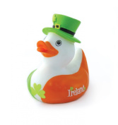 Ireland Bath Duck with Shamrock