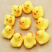 FEITONG@ NEW One Dozen 12PC Rubber Duck Ducky Duckie Baby Shower Birthday Party Favours