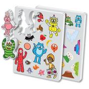 Yo Gabba Gabba Foam Bath Toys + BONUS Pack of Yo Gabba Gabba Silly Bandz!!!