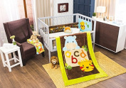 Hippo & Tiger A B C Crib Bedding Set 4pcs Limited Edition