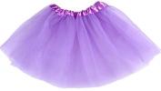 TheWin Girls Ballet Chiffon Leotard Fairy Skirts,Light Purple