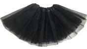 TheWin Girls Ballet Chiffon Leotard Fairy Skirts,Black