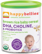 Happy Family happy bellies Baby Cereal - Brown Rice - 210ml