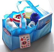 Baby Portable Nappy Nappy Water Bottle Changing Divider Storage Organiser Bag for Monther Gift