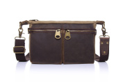 Betus Phone Change Diagonal Package Canvas with Leather Bag