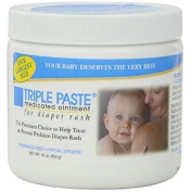Triple Paste Medicated Ointment for Nappy Rash, 470ml Fragrance Free, New