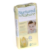 Nurtured By Nature Disposable Nappies, size 2 Jumbo