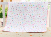 "LIYAWEI Baby Infant Waterproof Washable Cotton Home Travel Bedding Urine Mat Changing Pad(50cm*70cm/19.7""*27.6"") Pink"