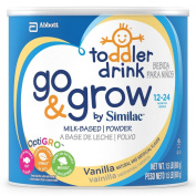 Similac Go & Grow Vanilla, Milk Based Toddler Drink with Iron, Powder, 710mls