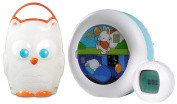 Kid'Sleep Moon Sleeping and Wake Alarm & Nightlight with Owl Light
