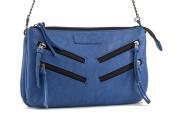 GG Rose by Rock Rebel Venice Cross Body Handbag with Zippers