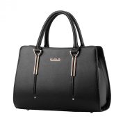 Donalworld Women OL Work Office Tote Manmade Leather Shoulder Handbag