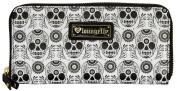 Loungefly Black & White Skull Wallet