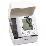 Blood Pressure Monitor Fits On Wrist Includes Storage Case Large LCD Screen