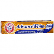 Arm & Hammer Advance White Extreme Whitening Control with Baking Soda & Peroxide, Stain Defence, Mint 180ml (170 g) Pack of 4