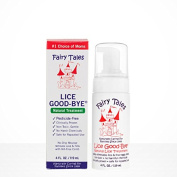 Fairy Tales Lice Good-bye natural lice treatment duo set 120ml with a free 60ml shampoo and 60ml leave in conditioning spray