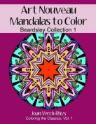 Art Nouveau Mandalas to Color