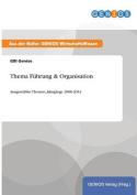 Thema Fuhrung & Organisation [GER]
