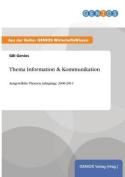 Thema Information & Kommunikation [GER]