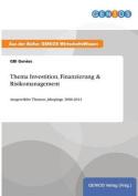 Thema Investition, Finanzierung & Risikomanagement [GER]