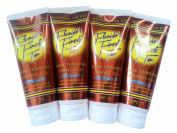 Florida's Finest Tan - Outdoor Tanning Gel - Dark Tanning Orange Gel with Essential Oils Sunscreen and Emollients, 150ml