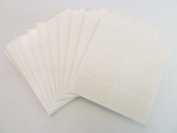 Minilabel Self-Adhesive Transparent Protective Seals , 40X20mm Rectangle , 300 Labels , Gloss Clear Over-Seal Stickers