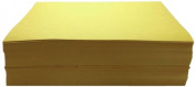 Childcraft 1465885 Light Weight Construction Paper, 23cm x 30cm , Yellow