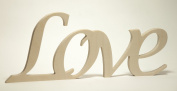 "Wooden Letters ""Love"""
