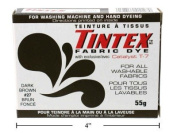 LOT OF 1 TINTEX BRAND DARK BROWN FABRIC DYE #27 NEW