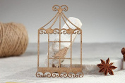 "Chipboard ""Bird in a Cage"""