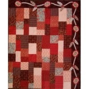 Country Rose Quilt Pattern by Black Cat Creations