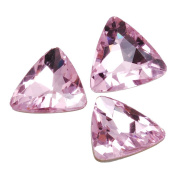 10pcs 23mm Triangle Cabochon Cushion Cut Fancy Crystal Stone