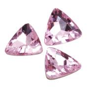 10pcs 23mm Triangle Cabochon Cushion Cut Fancy Crystal Stone