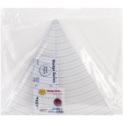 Quint Measuring Systems Circle Wedge, 60 Degrees, 36cm Long with 2.5cm Measuring